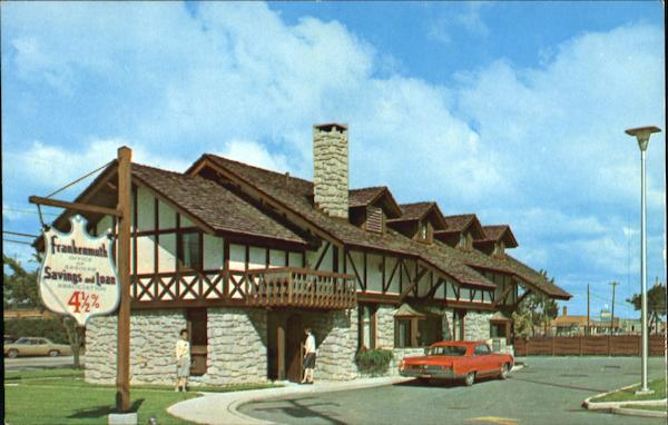 The Authentic Bavarian Type Building Frankenmuth Michigan