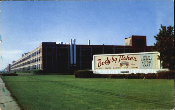 Fisher Body Division General Motors Corp Flint Mi