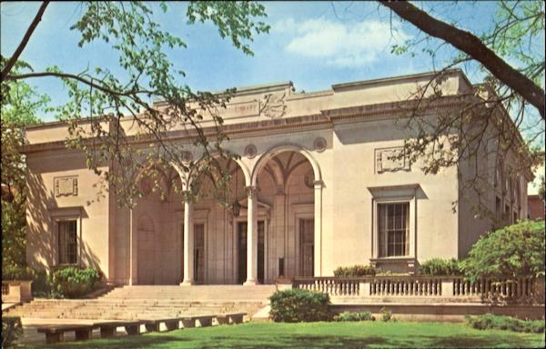 The William L. Clements Library, University of Michigan Campus Ann Arbor