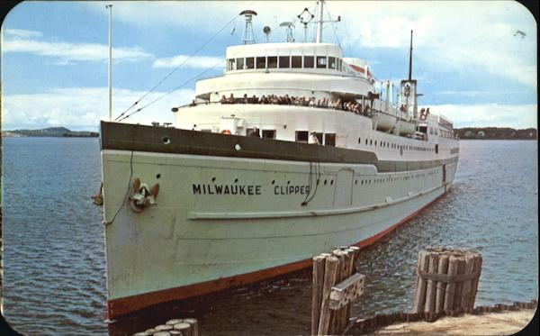 S. S. Milwaukee Clipper Muskegon Michigan