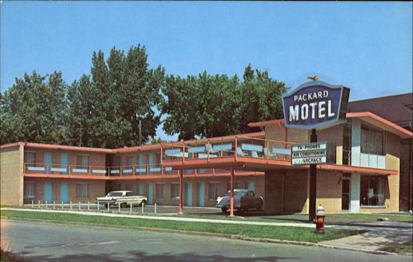 Packard Motel 1500 E Grand Blvd Detroit Mi