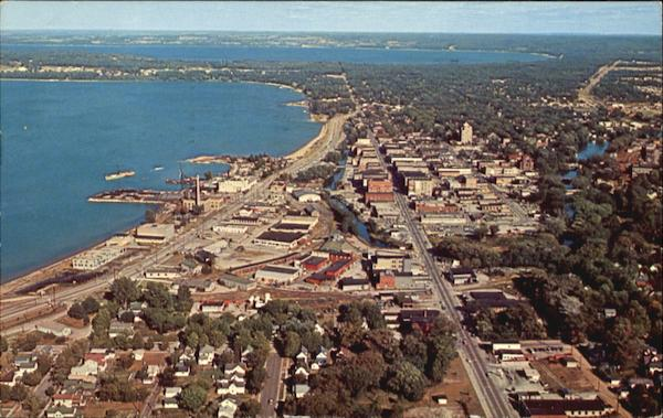 Looking East On The Bay Traverse City Michigan