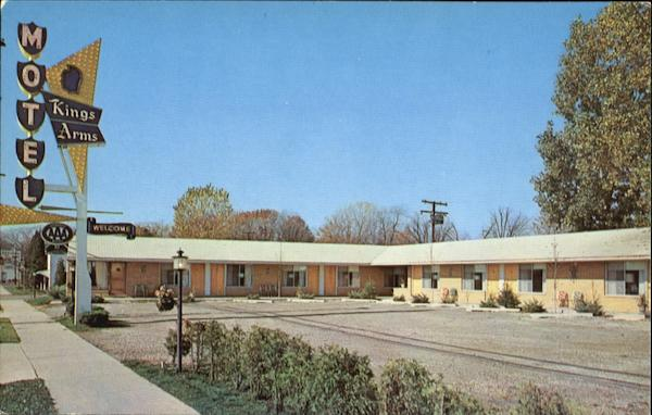Kings Arms Motel, 26040 Michigan Avenue Dearborn