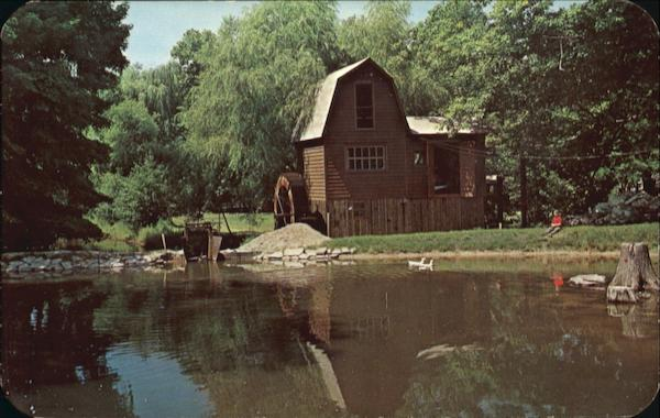 Picturesque Grist Mill Saugatuck Michigan