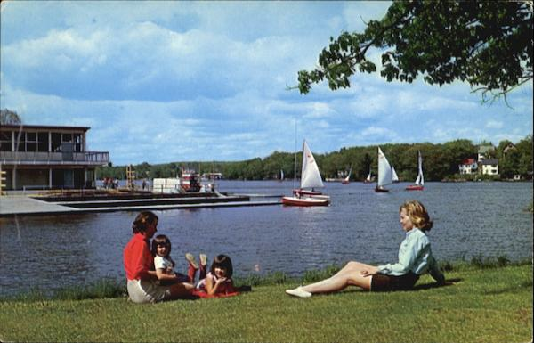 Lake Quinsigamond, Quinsigamond State Park Worcester & Shrewsbury Massachusetts