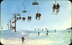 Skiing In Michigan's Winter Wonderland