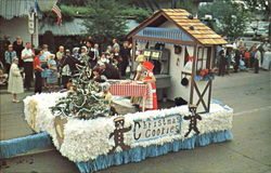 One Of The Bavarian Floats In The Bavarian Festival