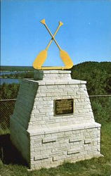 Canoe Racing Association Memorial Monument