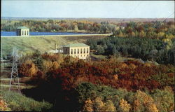 Hardy Dam On The Muskegon River