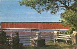 Centreville Covered Bridge In Michigan
