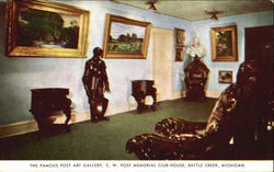 The Famous Post Art Gallery, C. W. Post Memorial Club House