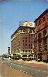 The Hotel Rowe Postcard