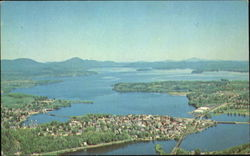 Overlooking The Beautiful City Of Newport And Lake Memphremagog