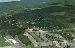 Bird's-Eye View Of Norwich University, The Well Known Military College Postcard