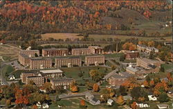 Aerial View Of Norwich University Postcard