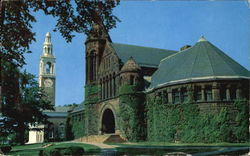 Chapel And Library, University of Vermont Postcard