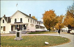 Birthplace Of Calvin Coolidge Postcard