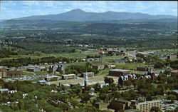 Birdseye View Of Part Of The U.V.M. Campus Postcard