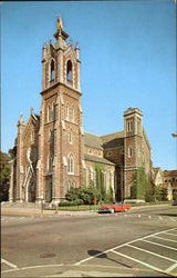 Cathedral Of Immaculate Conception Postcard