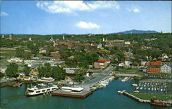 Bird's-Eye View Of Burlington Postcard