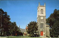 St. Paul's Episcopal Church Postcard