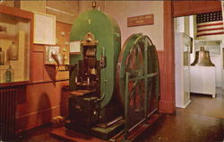 Coin Press Exhibited In The Nevada State Museum