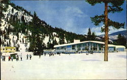 Squaw Valley Lodge Postcard