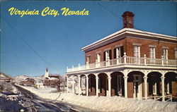 Virginia City Postcard