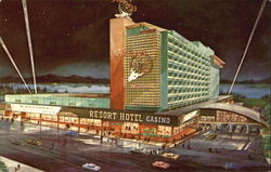 Harvey's Resort Hotel, Stateline Postcard