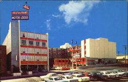 Red Carpet Motor Lodge, 140 Court St Postcard