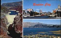Boulder City - Hoover Dam Postcard
