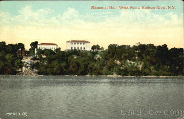 Memorial Hall, Hudson River West Point New York