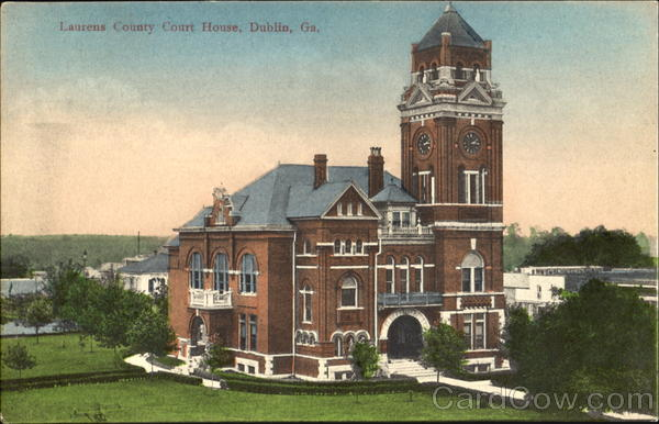 Laurens County Court House Dublin  Ga