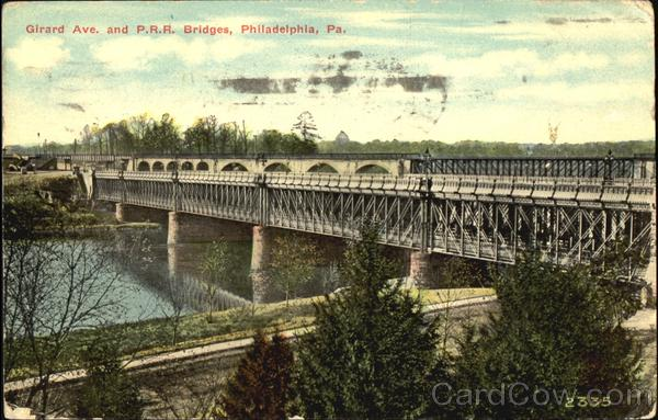 Girard Ave. And P.R.R. Bridge Philadelphia Pennsylvania