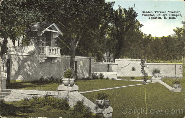 Landscaping Rock Yankton Sd : Garden terrace theater yankton college campus