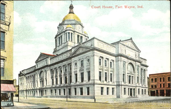 Court House Fort Wayne Indiana
