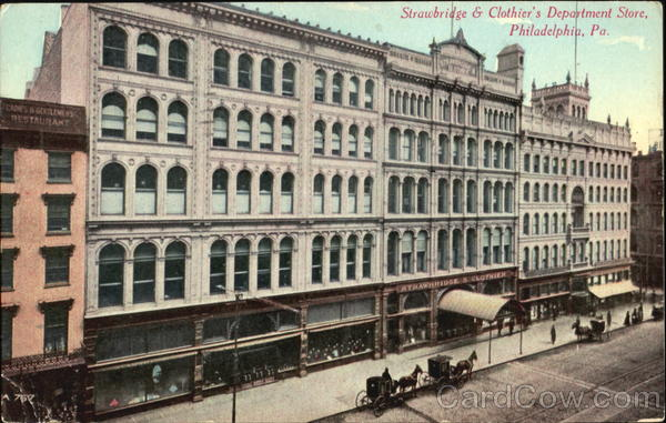 Strawbridge & Clothier's Department Store Philadelphia Pennsylvania