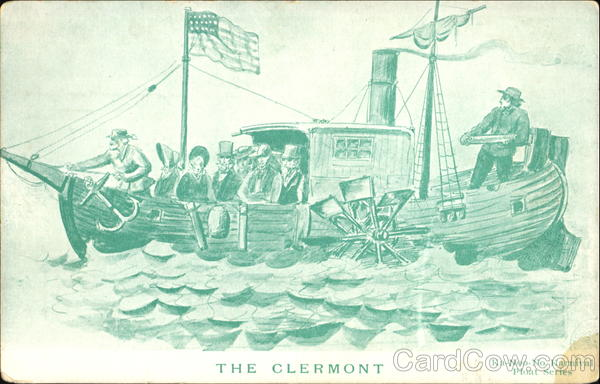 The Clermont Boats, Ships First Day Covers
