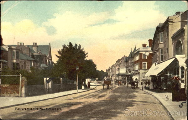 Bognor High Street England Sussex