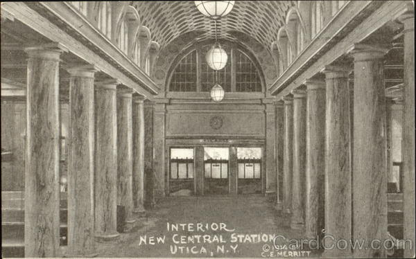 Interior New Central Station Utica New York