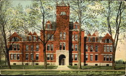 Lindley Hall, Earlham College Postcard