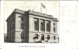 Government Building At Pierre