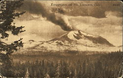Eruption Of Mt. Lassen