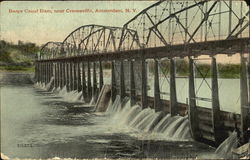 Barge Canal Dam, Cranesville