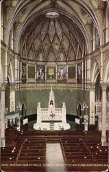 Interior View St. Pauls Church, Cor. 22nd St. and 3rd Ave