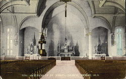 Interior Of St. Joseph Church