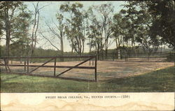 Sweet Briar College Tennis Court
