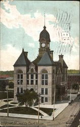 Will Co. Court House Postcard