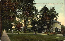 Residence Of M. K. Husted Postcard