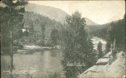 Along The Flathead River Postcard